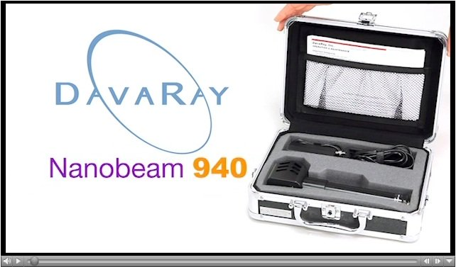 Image for link to Nanobeam 940 video